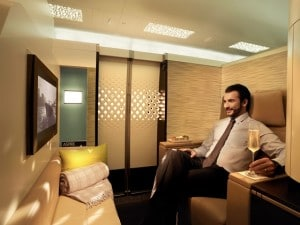 etihad airways first class cabin