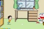 Nobi Nobita Paper Toss Game