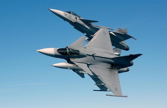 Saab JAS 39 Gripen (Sweden)