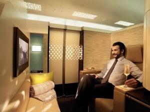 etihad airways first class cabin