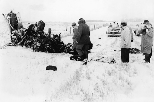 Buddy Holly's Plane Crash